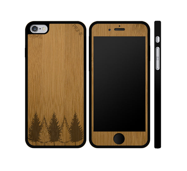 """Tree Line"" - bamboo iPhone case"