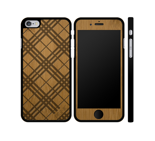 """PRiNKberry Pattern"" - bamboo iPhone case"