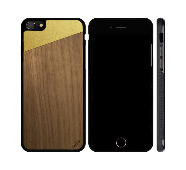 Fusion Wood and Metal iPhone or Galaxy Case