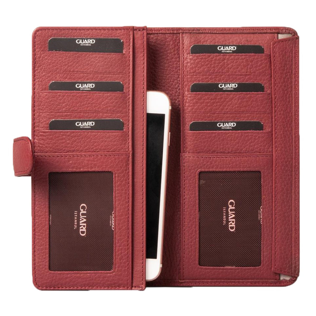 Guard 202 Genuine Leather Portfolio Wallet