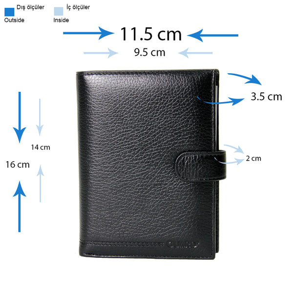 Guard 375 Leather Passport Cover & Wallet