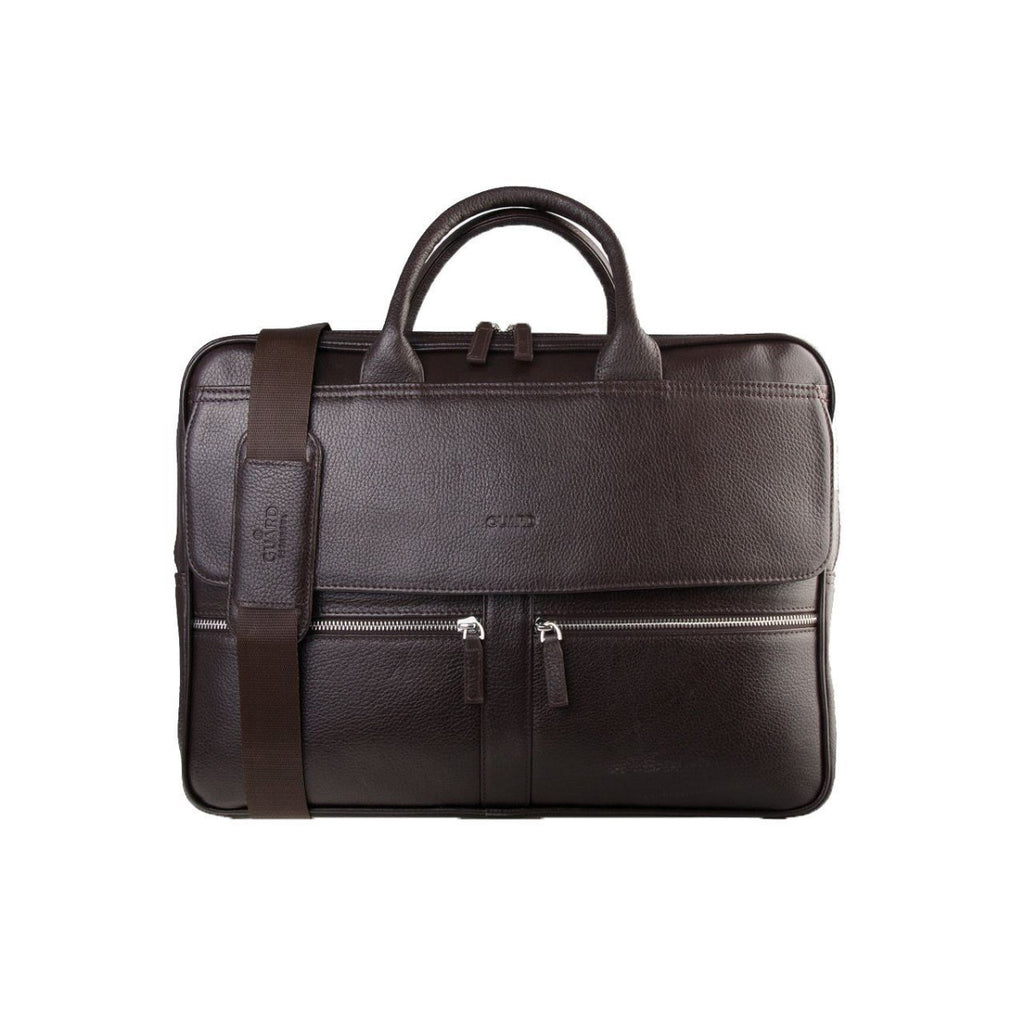 "Guard 1744, 15.6"" Original Leather Briefcase"