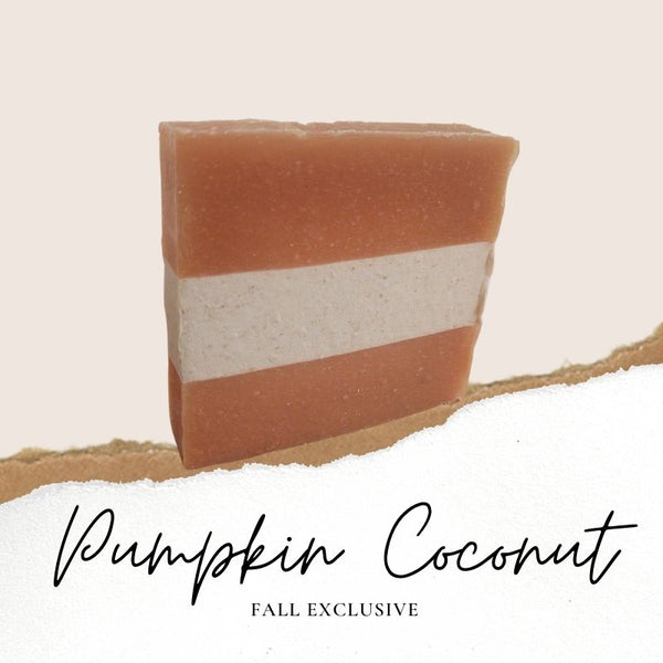 PUMPKIN COCONUT NATURAL SOAP