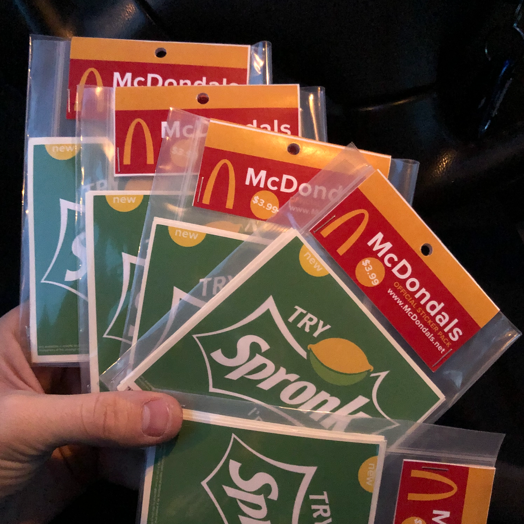 McDondals Meme Sticker Pack