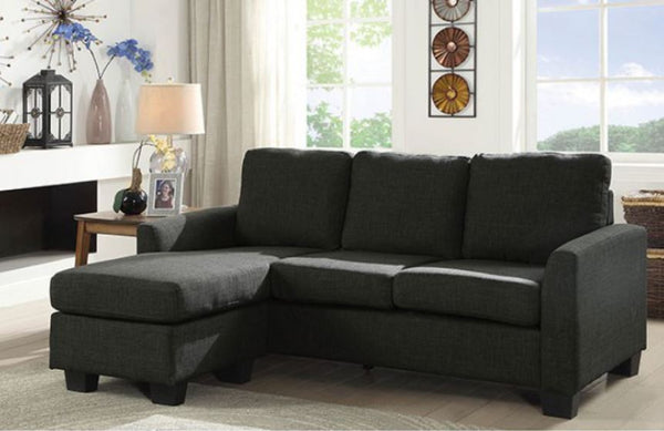 Erin Sectional Dark Grey CM6593GY