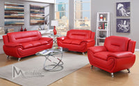 Napoli 3 Piece Sofa Loveseat set - Many colors available