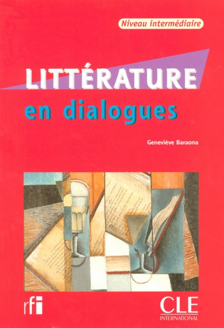 Litterature en dialogues + CD audio  -  Intermediaire