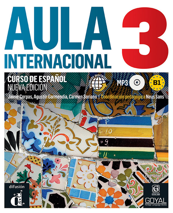 AULA INTERNACIONAL 3 (B1) Textbook New With CD