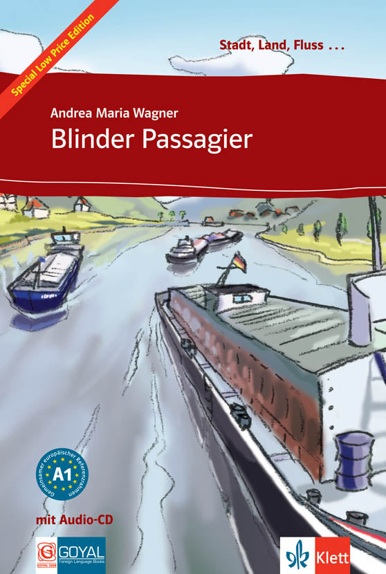 Blinder Passagier. Buch + Audio-CD (Easy Readers)