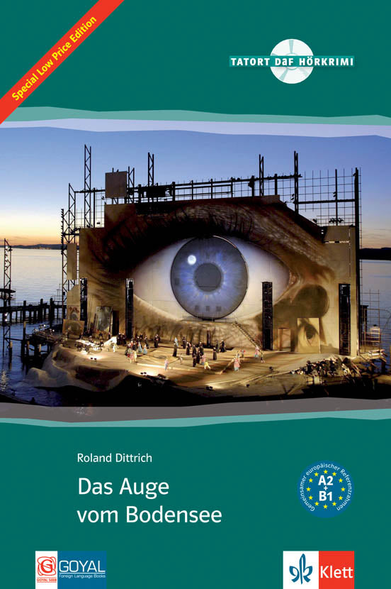 Das Auge vom Bodensee. Book + Audio-CD A2 - Easy readers
