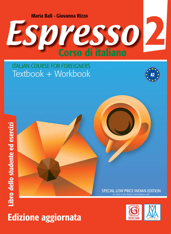 ESPRESSO 2 A2 TEXTBOOK+WORKBOOK+CD