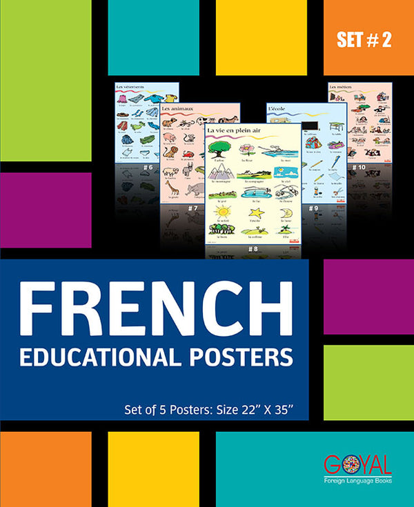 French Educational Posters (Set # 2)