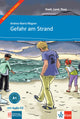 Gefahr am Strand. Buch + Audio-CD- Easy Readers