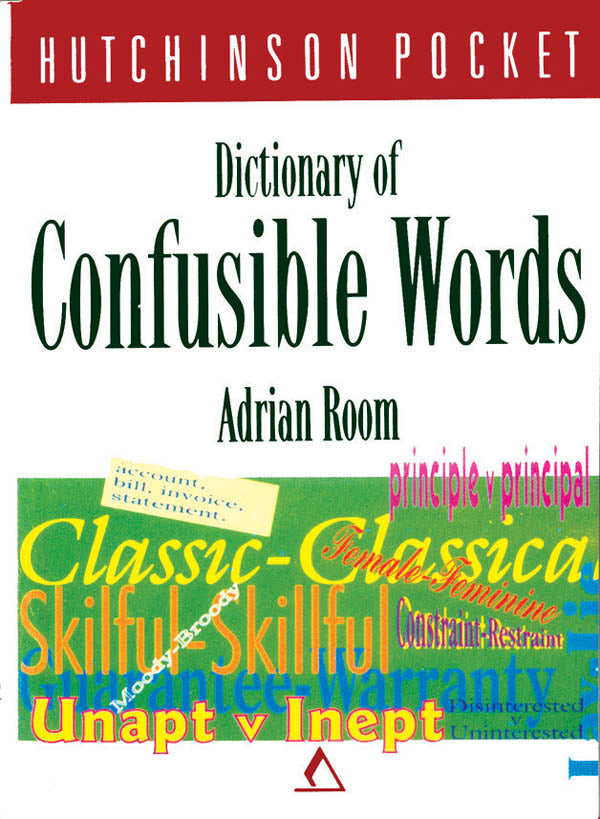 Dictionary of Confusible Words