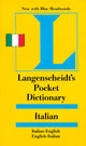 Langenscheidt Pocket Italian Dictionary