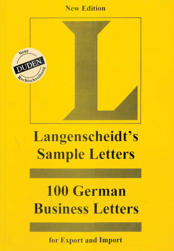 100 German Business Letters