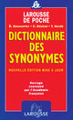 Larousse Dictionnaire Des Synonyms Poche