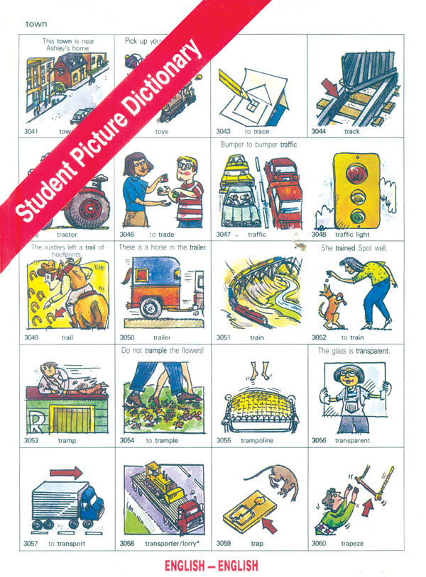 Student Picture Dictionary (English)