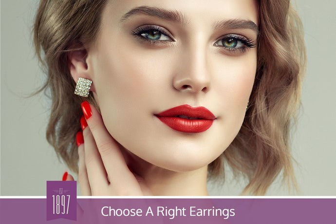 How to Choose The Right Earrings For Your Face Shape
