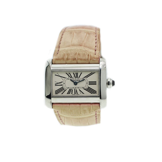 Cartier Divan 2599 - 31mm Stainless Steel Ladies Watch
