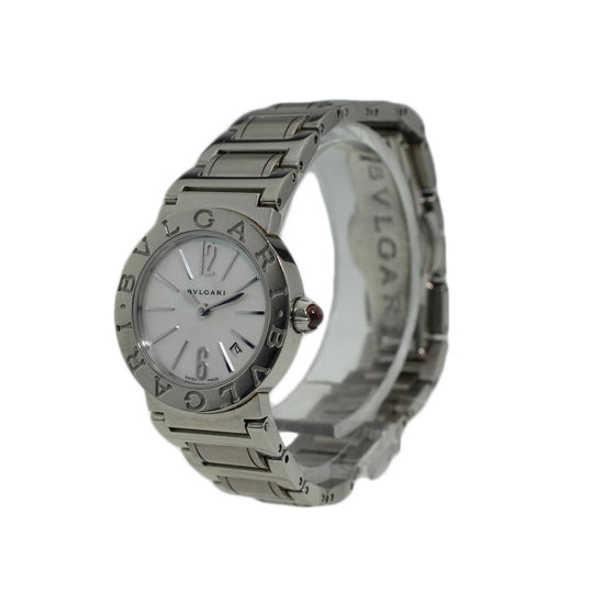 Bvlgari Tubogas BBL26S Mother of Pearl Quartz 26mm Ladies Watch