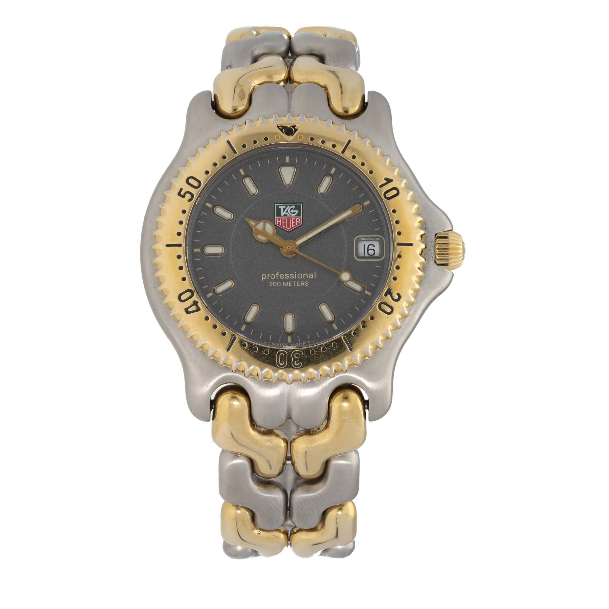 Tag Heuer Professional WG1120-KO 37.5mm Bi-Colour Ladies Watch