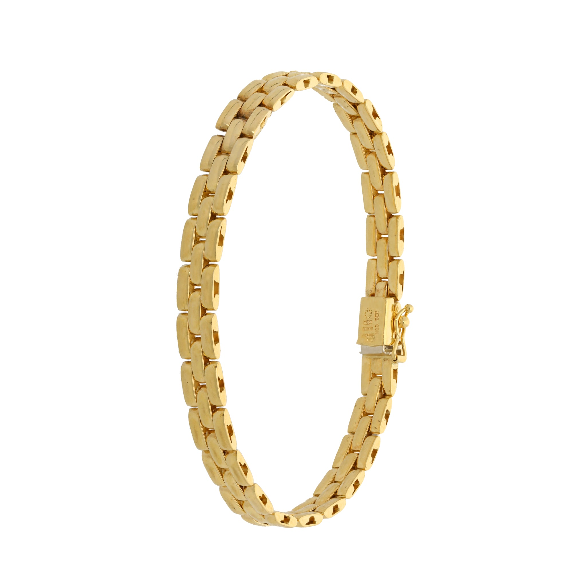 18ct Gold Ladies Alternative Bracelet