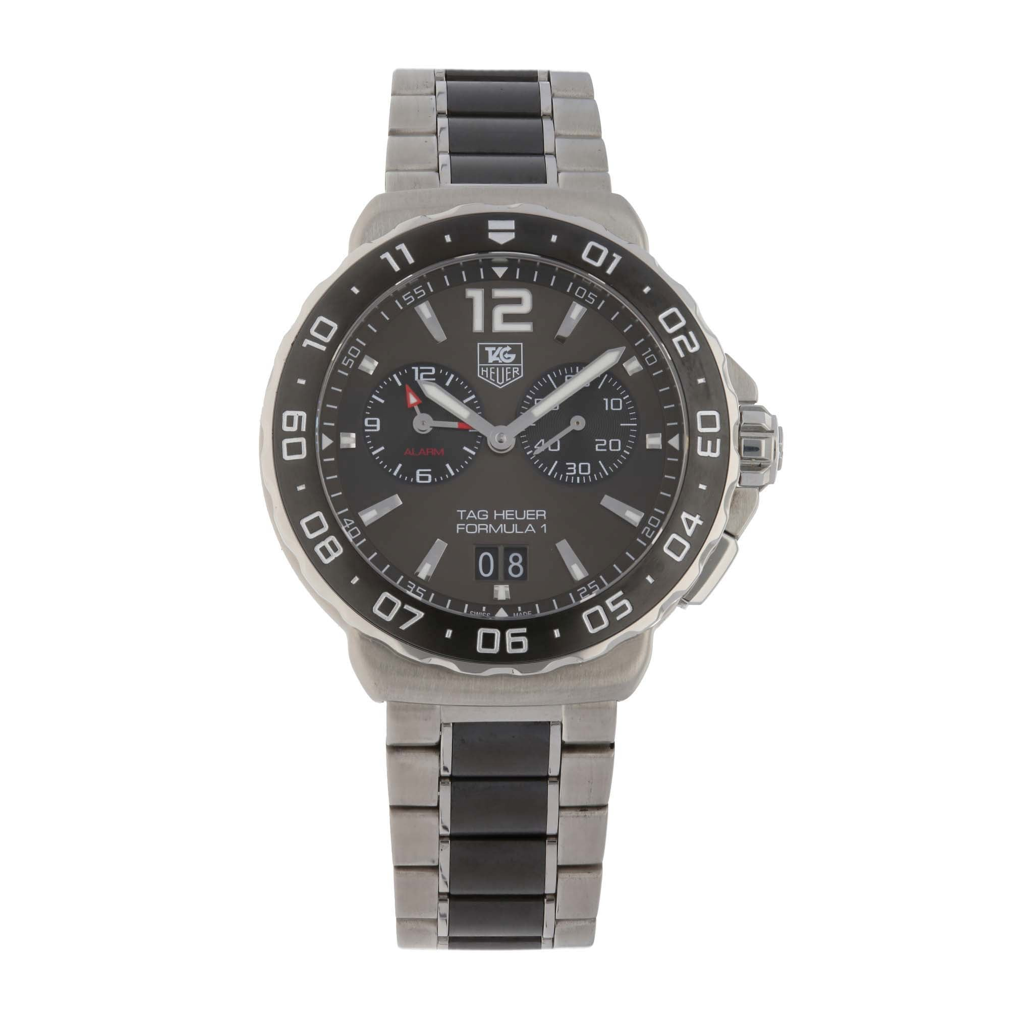 Tag Heuer Formula 1 WAU111C 42mm Stainless Steel Mens Watch