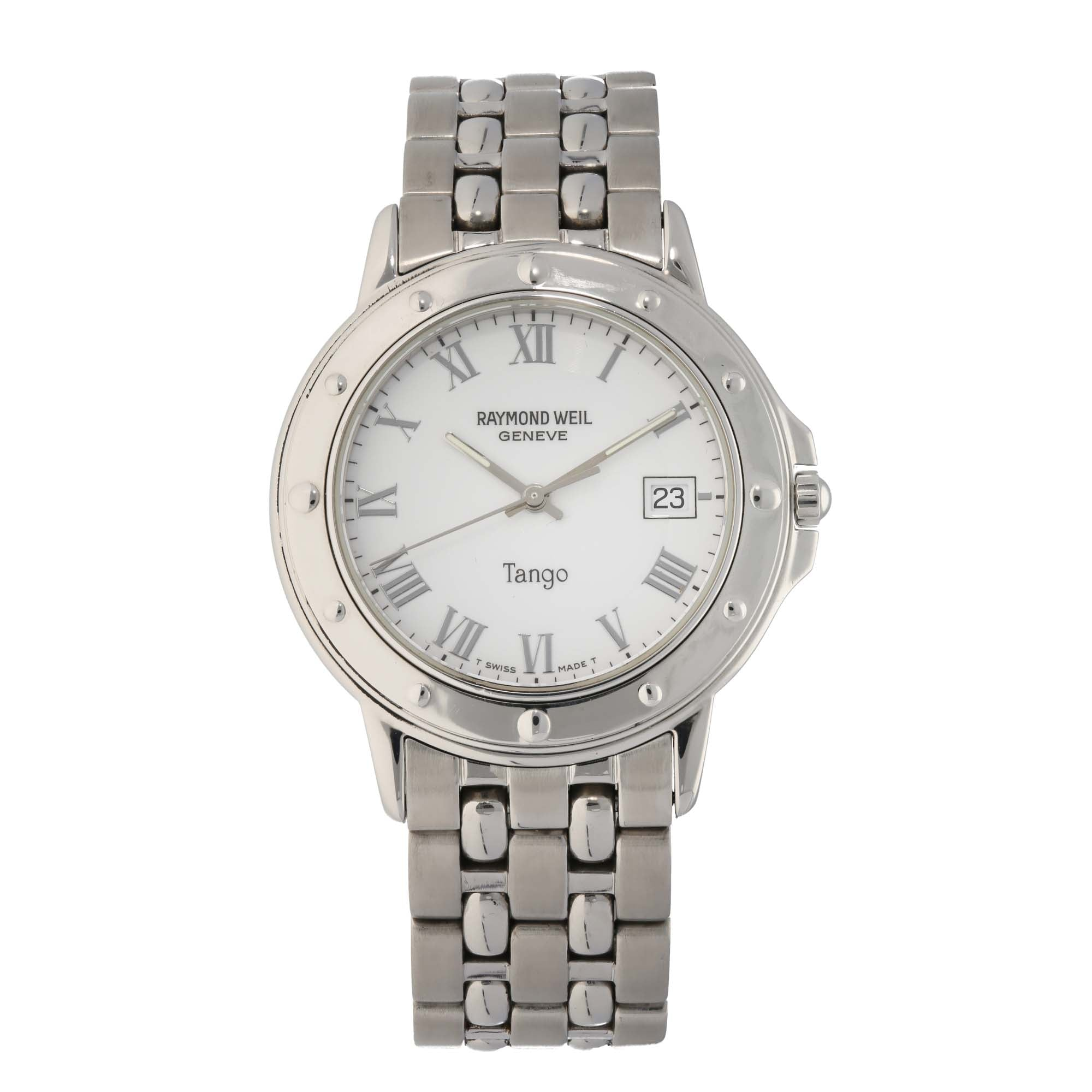 Raymond Weil Tango 5560 36mm Stainless Steel Mens Watch