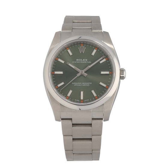 Rolex Oyster Perpetual 114200 36mm Stainless Steel Unisex Watch
