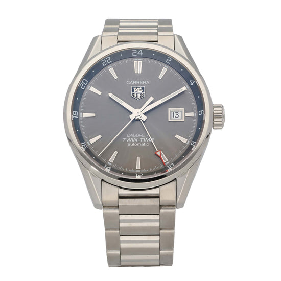 Tag Heuer Carrera WAR2012-0 41mm Stainless Steel Mens Watch