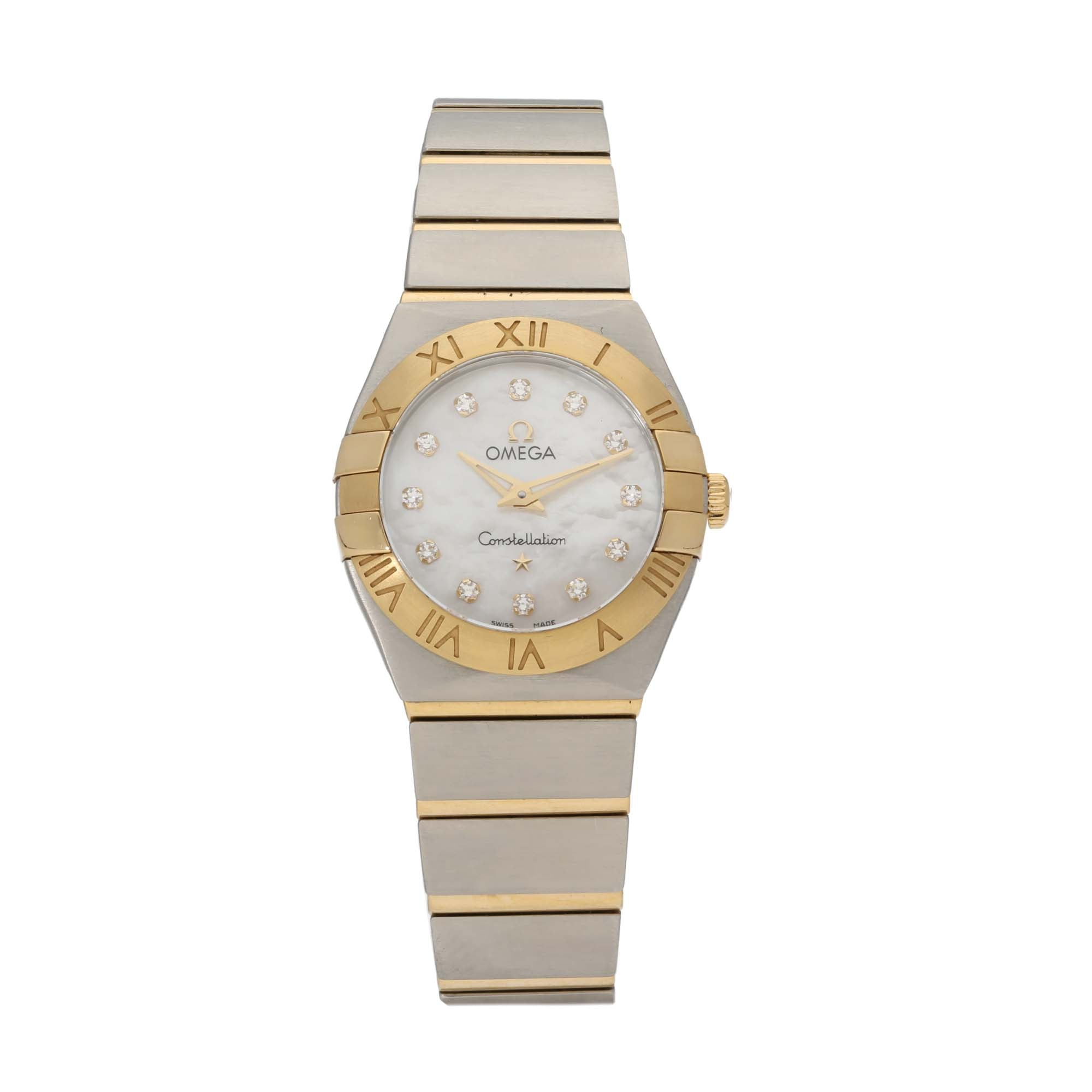 Omega Constellation 24.5mm Bi-Colour Ladies Watch