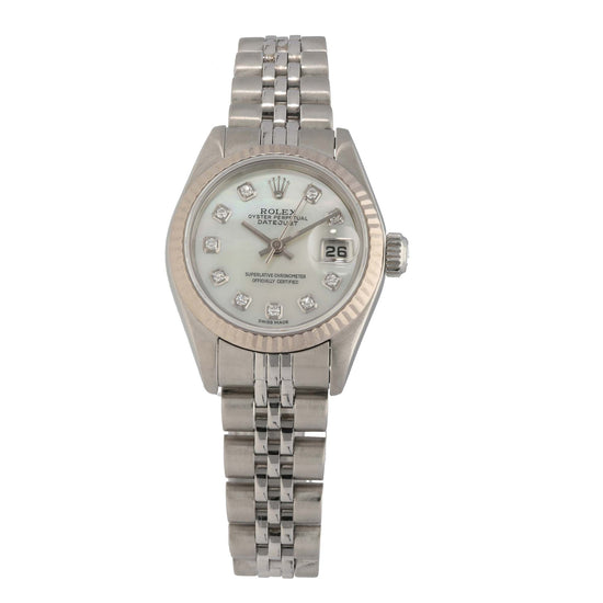 Rolex Datejust 69190 26mm Stainless Steel Ladies Watch
