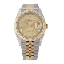 Load image into Gallery viewer, Rolex Datejust 126233 36mm Gold Mens Watch