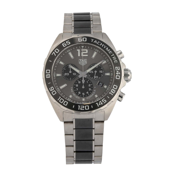 Tag Heuer F1 CAZ1011 42mm Stainless Steel Mens Watch