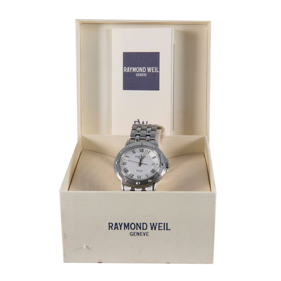 Raymond Weil Tango 5560 Steel & Grey 35mm Mens Watch