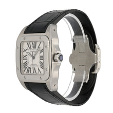 Load image into Gallery viewer, Cartier Santos 100 2656 38.5mm Stainless Steel Mens Watch