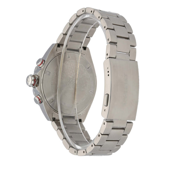 Tag Heuer F1 CAZ101T 43mm Stainless Steel Mens Watch