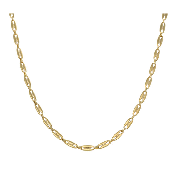 18ct Gold Ladies Fancy Necklace 20""