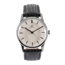 Load image into Gallery viewer, Omega Vintage Stainless Steel & Grey 33mm Mens Watch