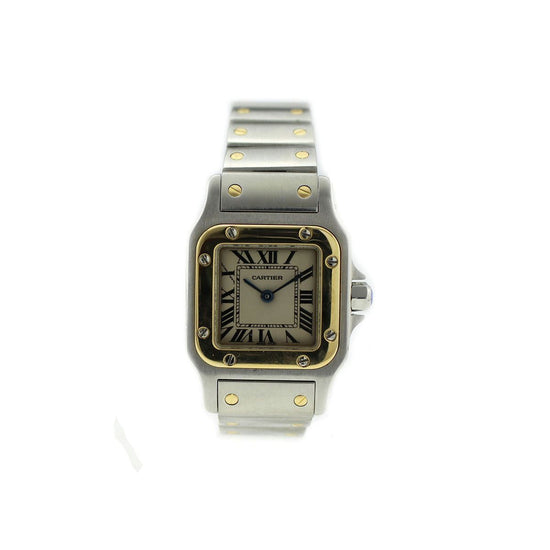 Cartier Santos 4097 - 24mm stainless Steel Ladies Watch