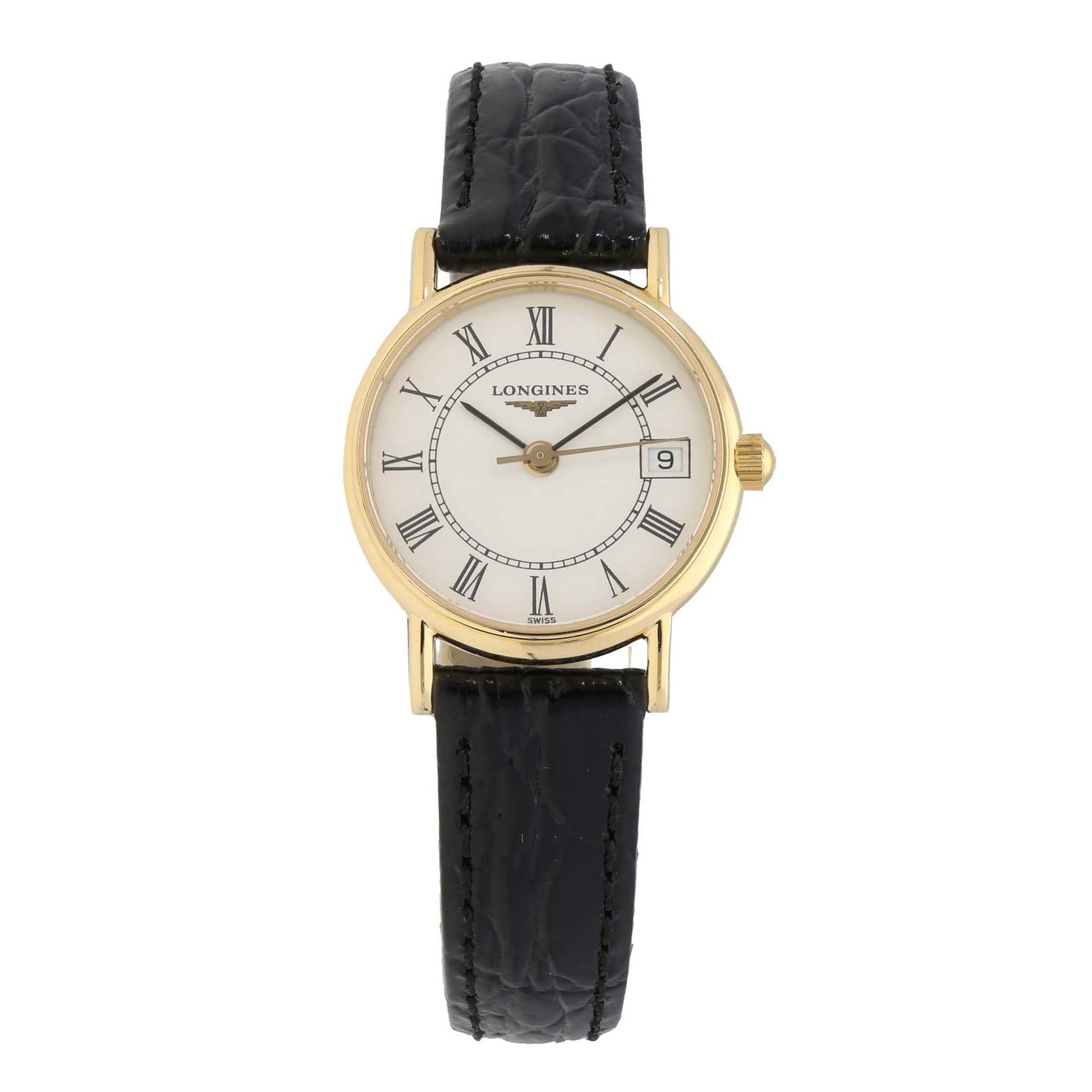 Longines Vintage L7.490.6 23mm Gold Ladies Watch
