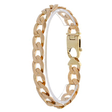Load image into Gallery viewer, 9ct Gold Ladies Curb Bracelet