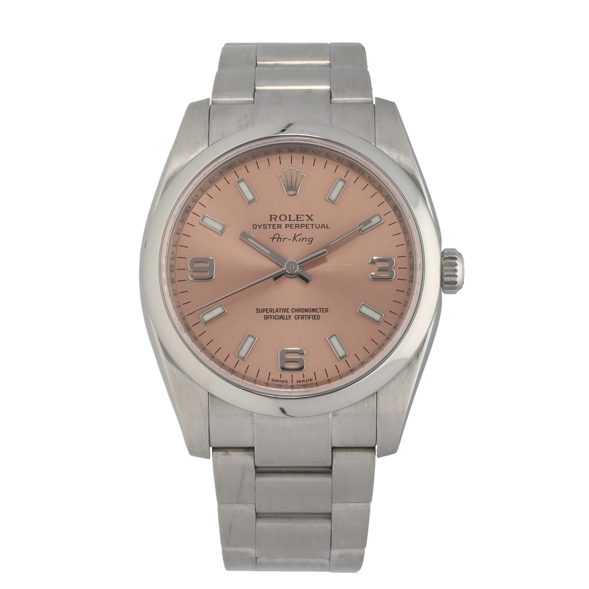 Rolex Oyster Perpetual 114200 35mm Stainless Steel Ladies Watch