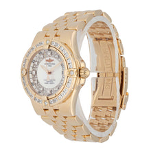 Load image into Gallery viewer, Breitling Windrider H71340 31mm Gold Ladies Watch