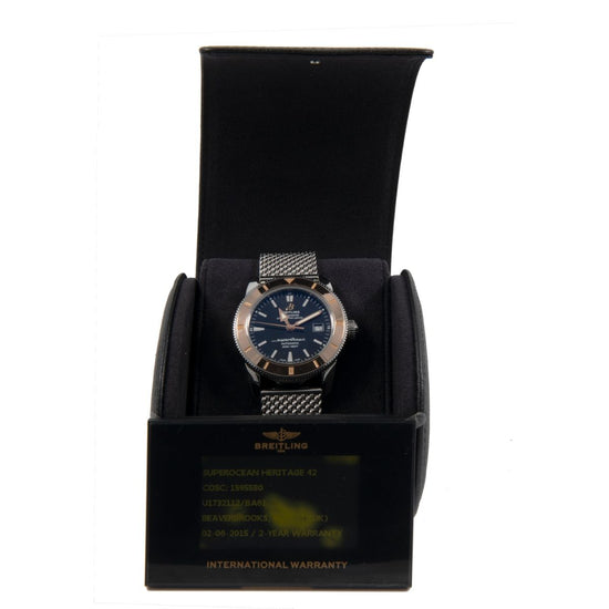 Breitling Superocean U17321 Bi-Colour & Black 42mm Mens Watch