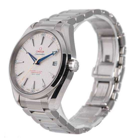 Omega Seamaster Aqua Terra 231.10.42.21.02.004 Steel & Grey 41.5mm Mens Watch