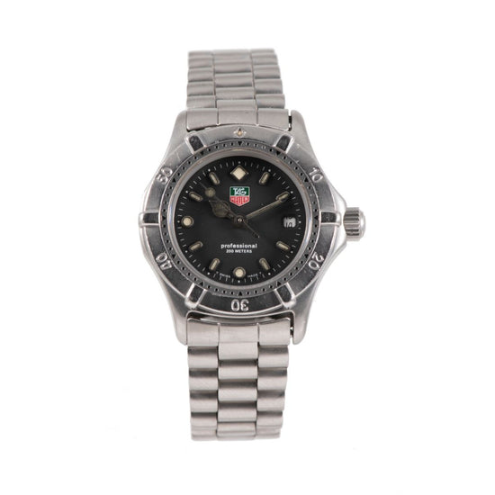 Tag Heuer 2000 Series WE1410-R Steel & Black 27mm Ladies Watch