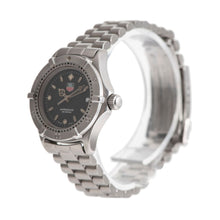 Load image into Gallery viewer, Tag Heuer 2000 Series WE1410-R Steel & Black 27mm Ladies Watch