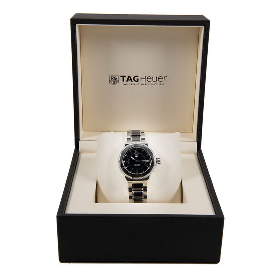 Tag Heuer F1 WAH1212 Steel & Black 35mm Mens Watch